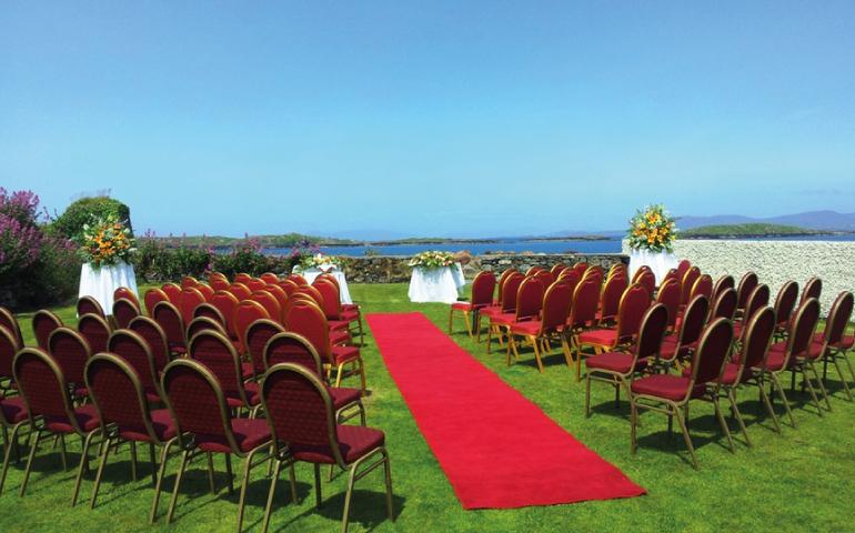 Weddings at Renvyle House Hotel Galway