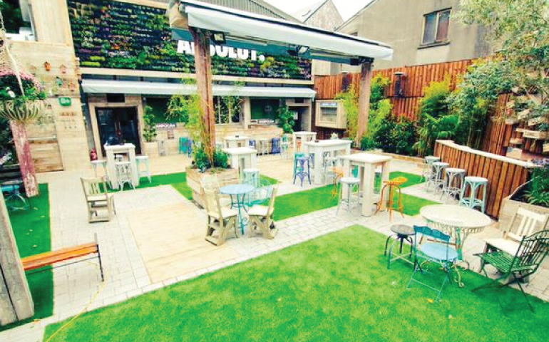 7 of galway 39 s best beer gardens this is galway for Garden design galway