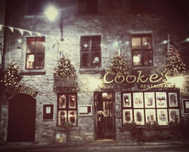 Cookes Restaurant Galway