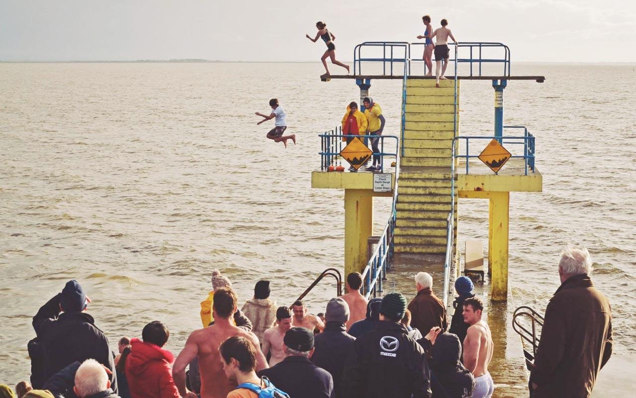Cope Christmas Day Swim