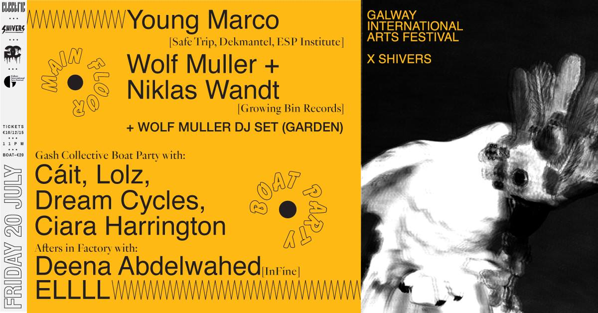 Shivers x Young Marco, Wolf Muller and Niklas Wandt - This is Galway