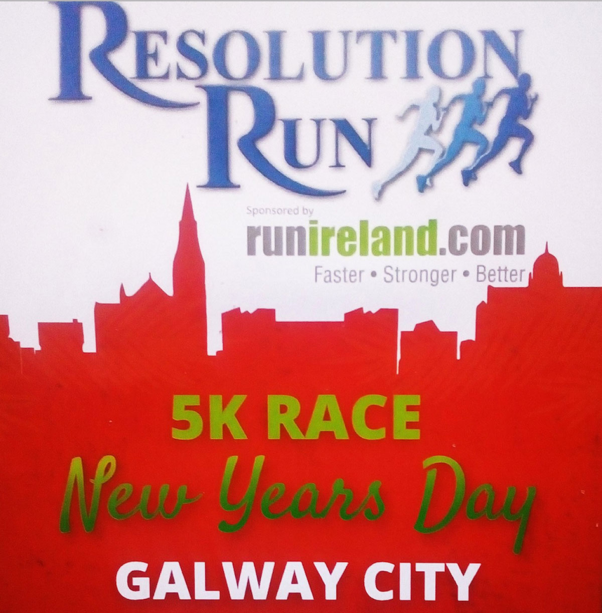 Galway City New Year Run