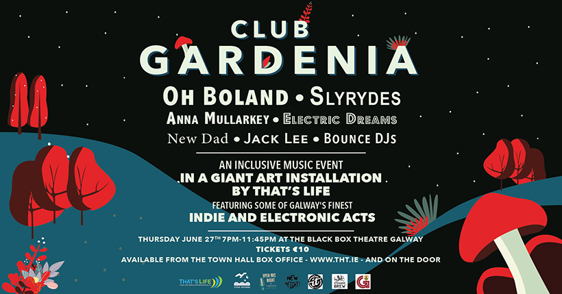 Club Gardenia Line Up The Black Box
