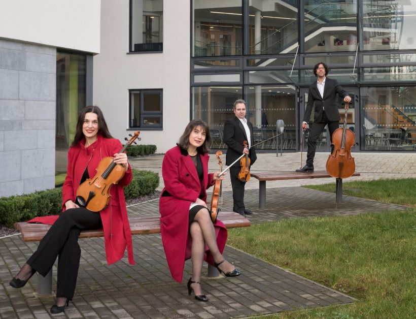 Galway Music Residency ConTempo Quartet Programme