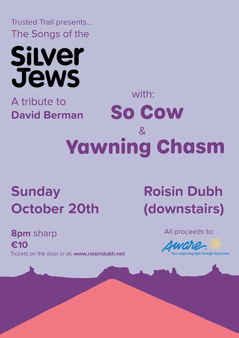 David Berman Tribute Night Poster