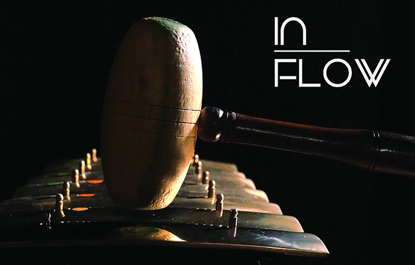 In Flow's instrument of choice: The Gamelan
