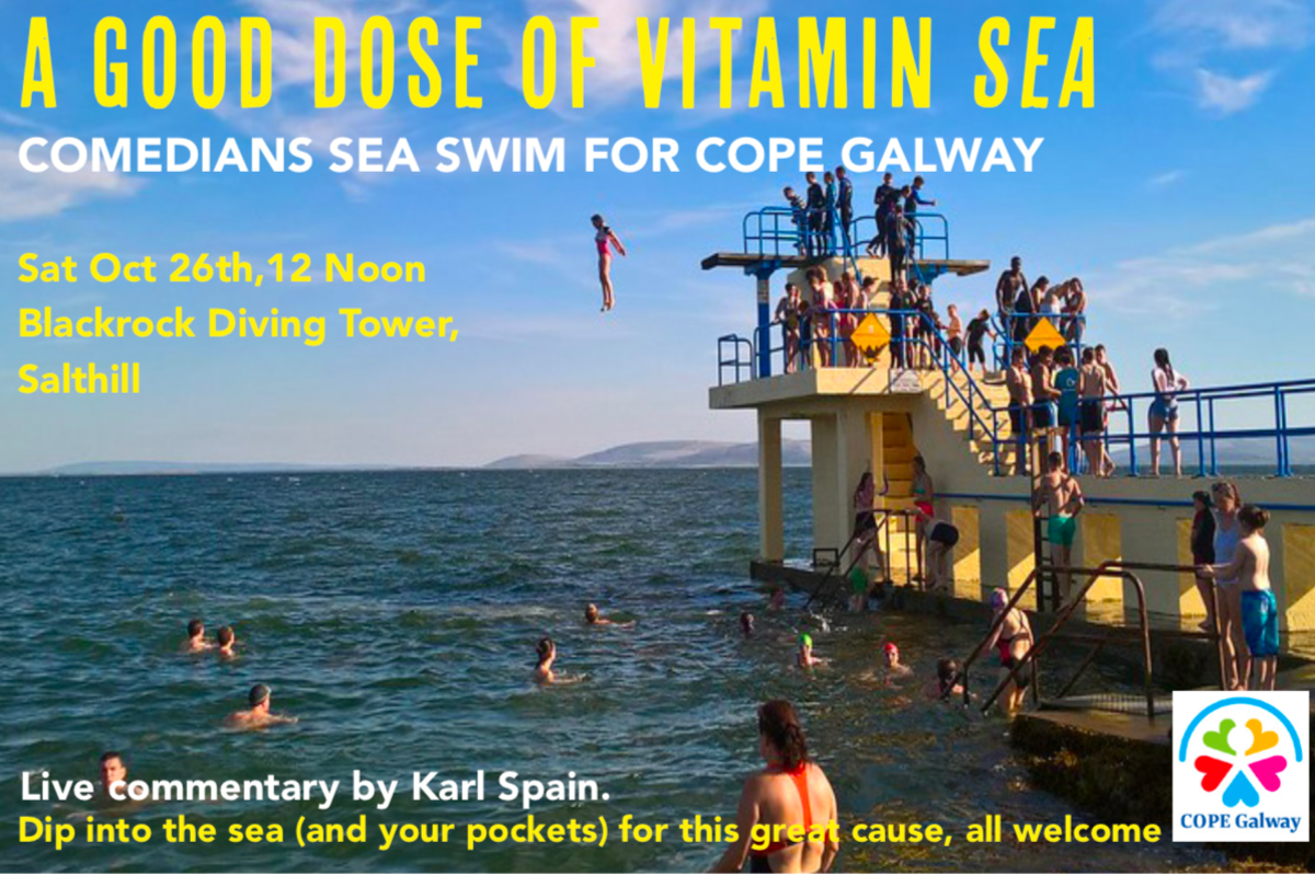Comedy Carnival Dip for COPE GALWAY