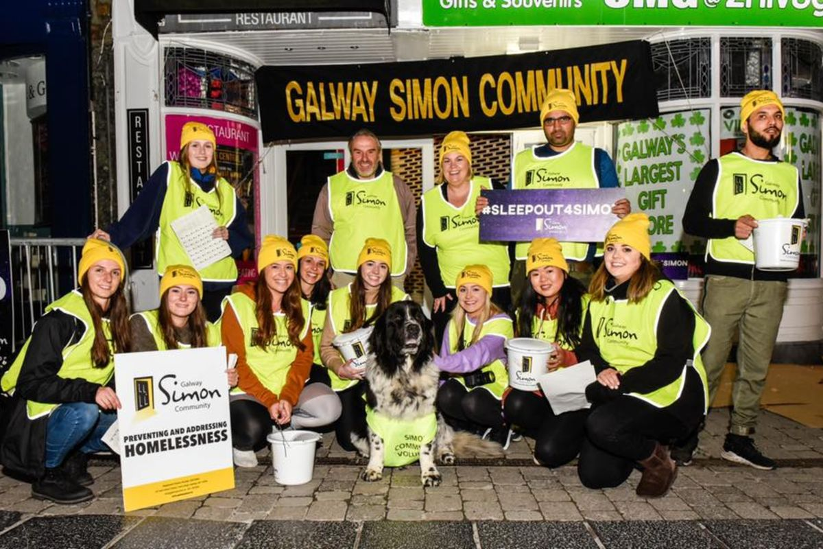 sleep out for simon