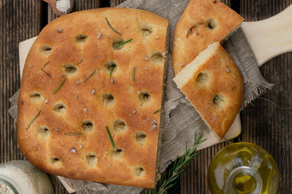 Ruibin Galway Focaccia Bread