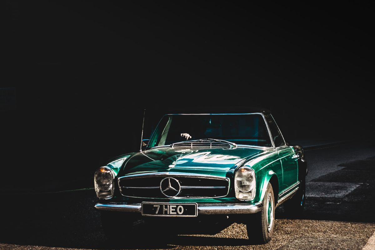 Classic Drive In Car