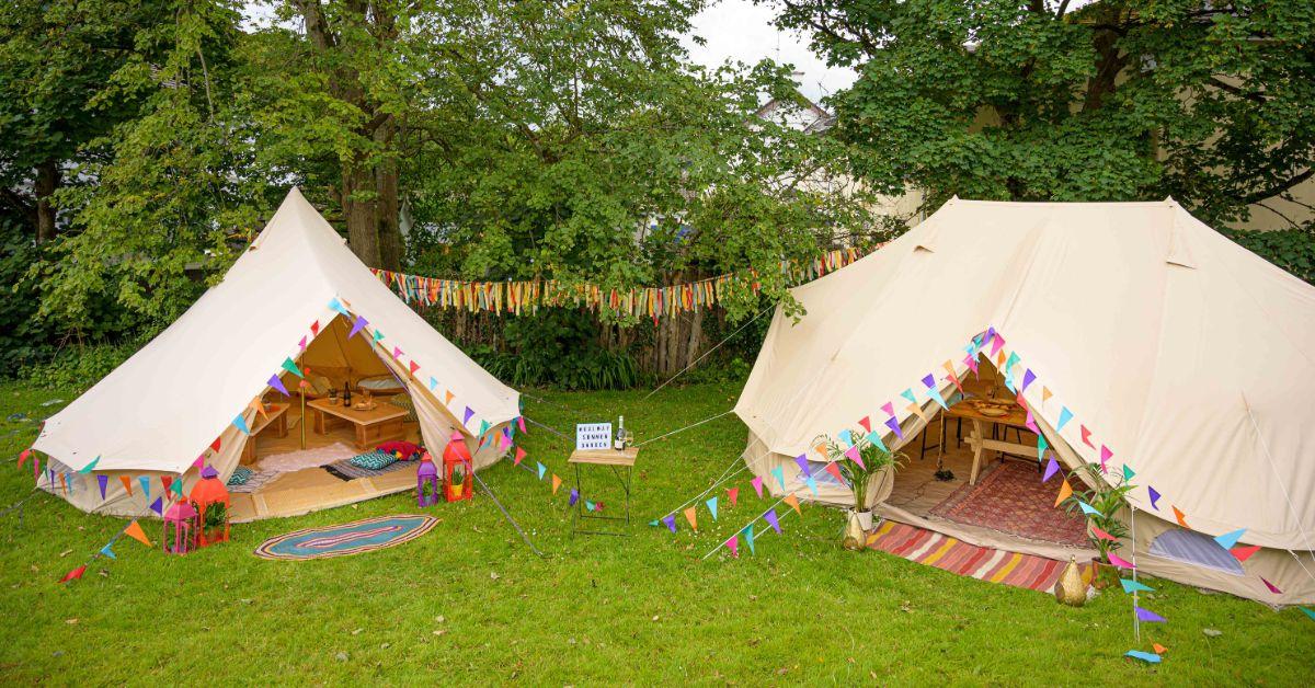 Galway Summer Garden Tents