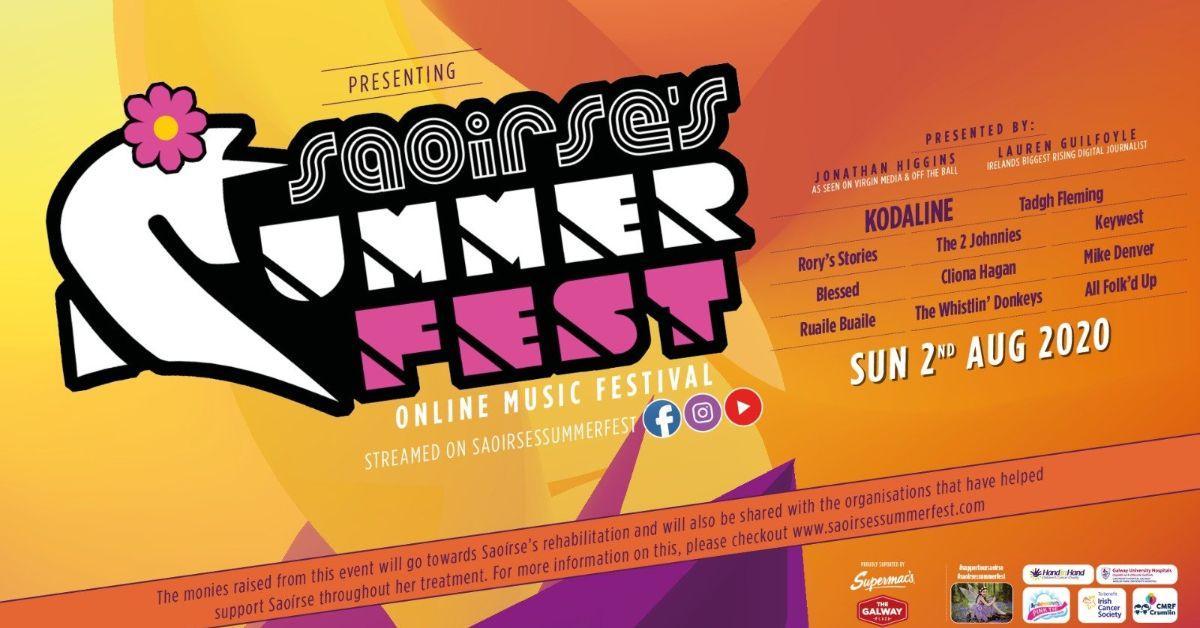 Saoirse Summer Fest Line Up
