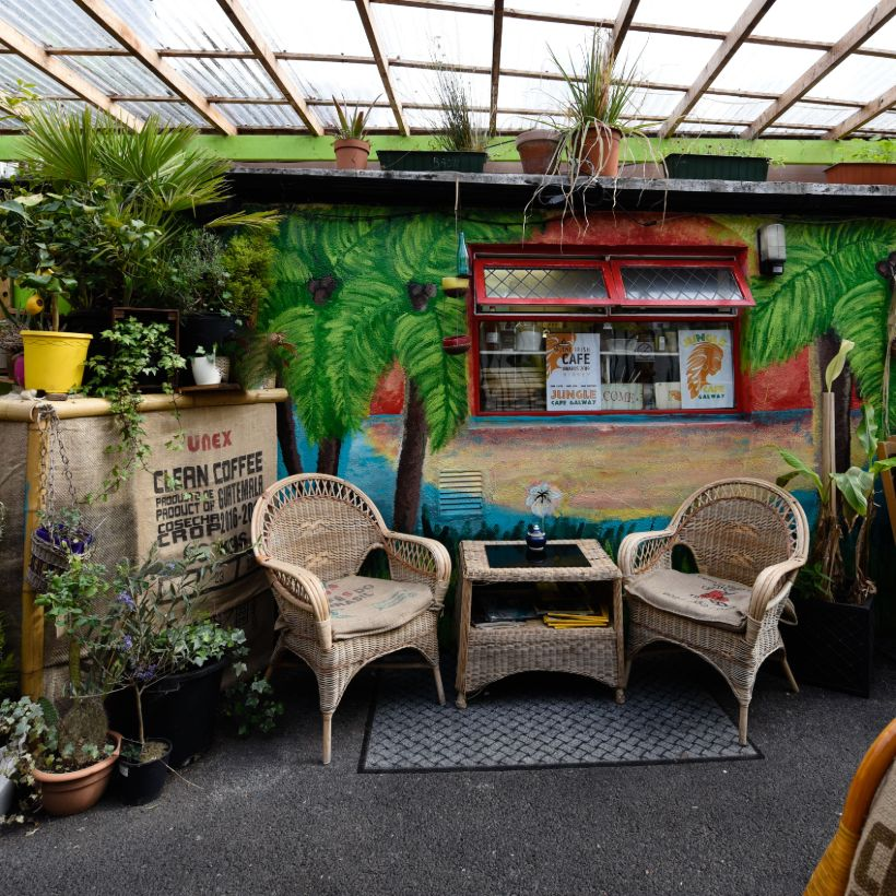 Jungle Café Outdoor Seating