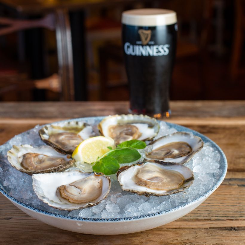 Traditional Tastes Guinness Oysters
