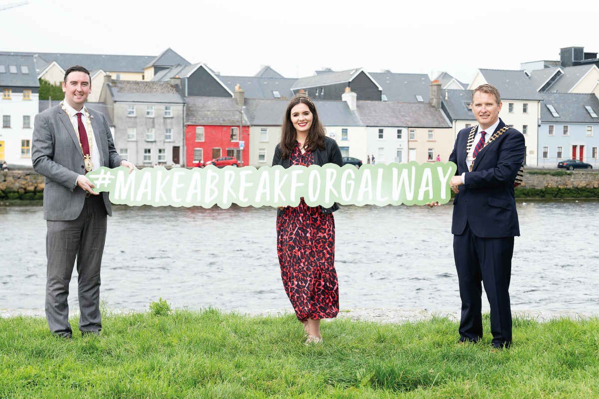 Make a Break for Galway by Andrew Downes