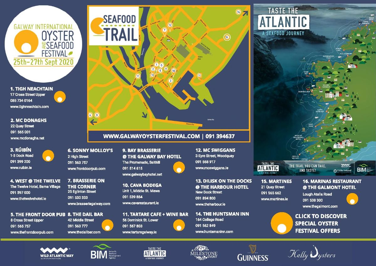 Oyster Fest Trail Map