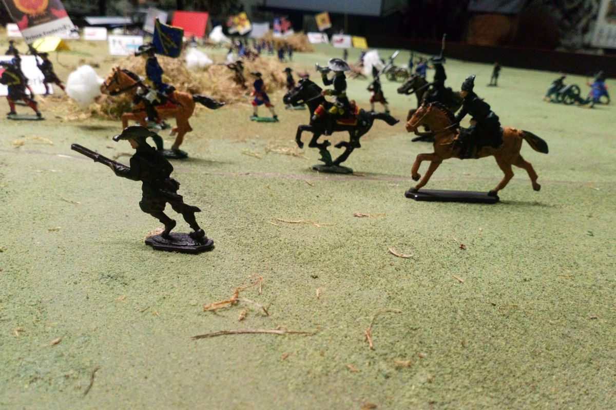Battle of Aughrim Diorama