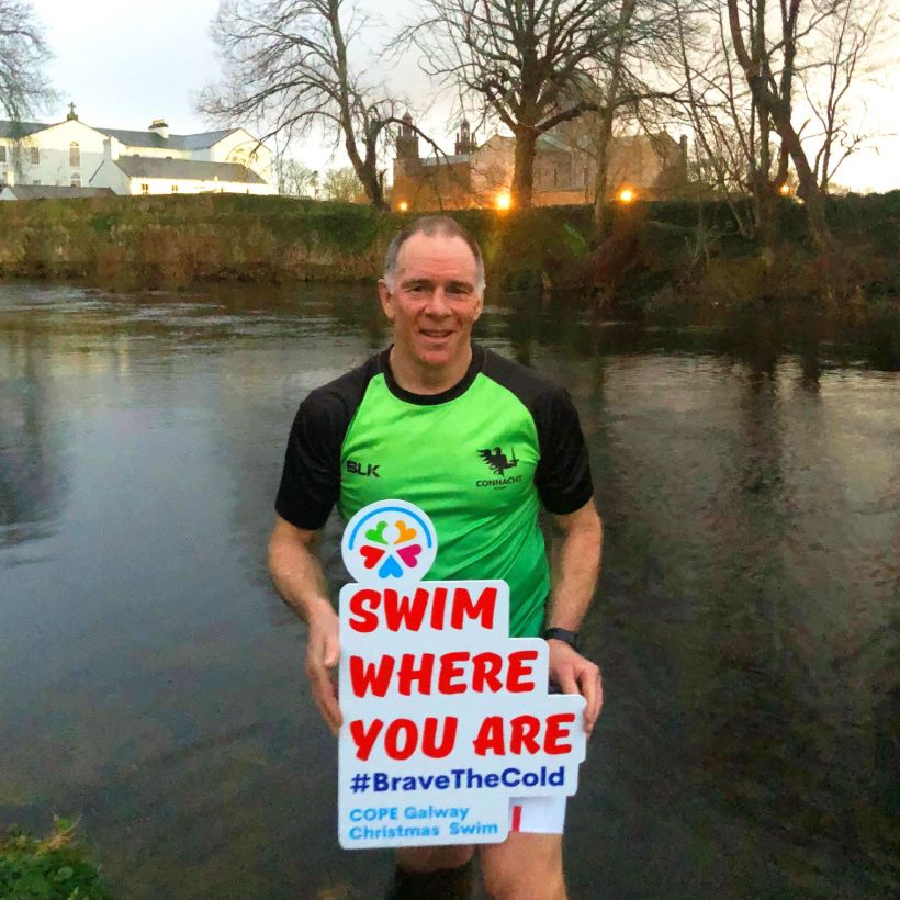 Andy Friend Connacht Cope