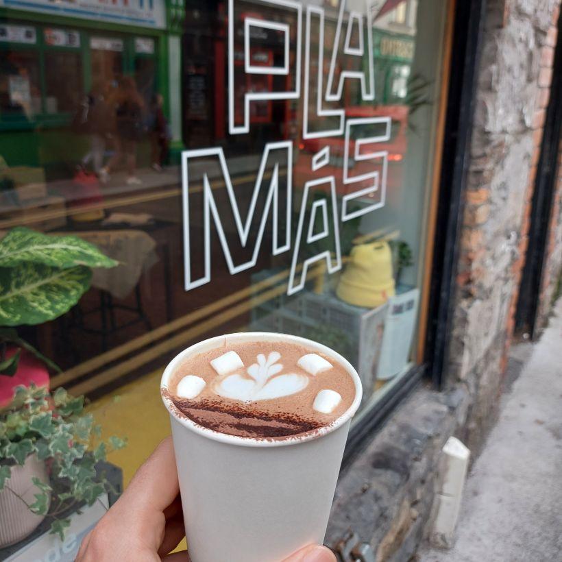 Plámás Hot Chocolate