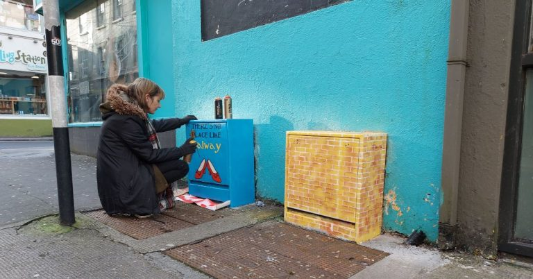 TRACEY MOCA ADDS A TOUCH OF MAGIC TO GALWAY STREETS
