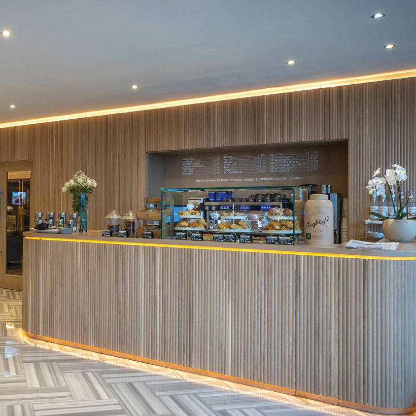 The Connacht Hotel Reception