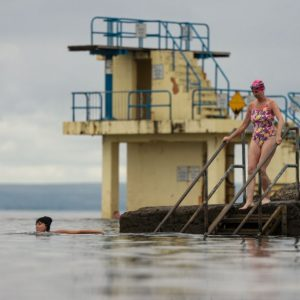 SWIM THE BAY FOR CANCER CARE WEST THIS AUGUST