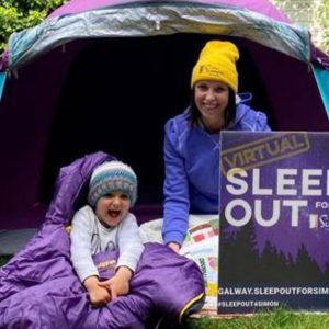SLEEP OUT FOR SIMON CAMPAIGN LAUNCHED