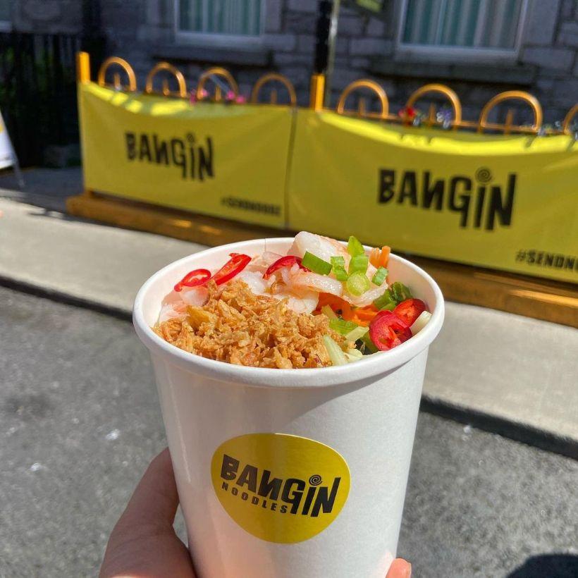Bangin' Noodles Content