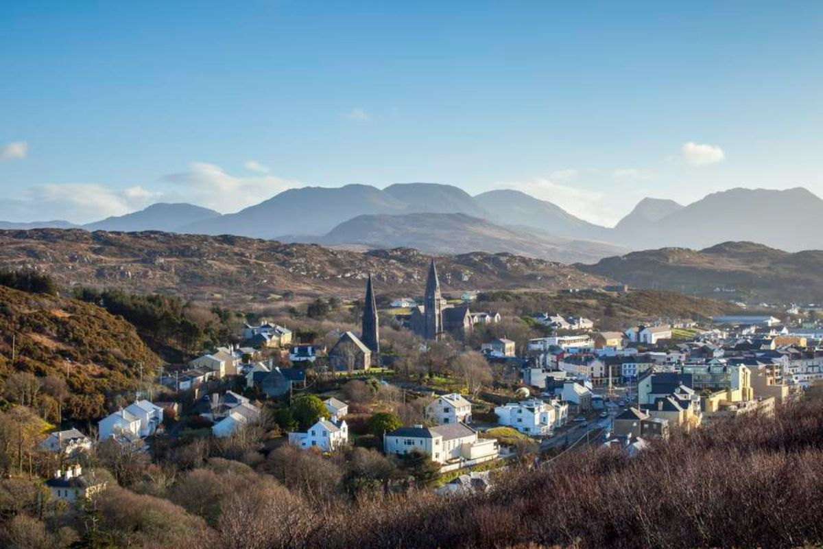 Alcock and Brown Clifden