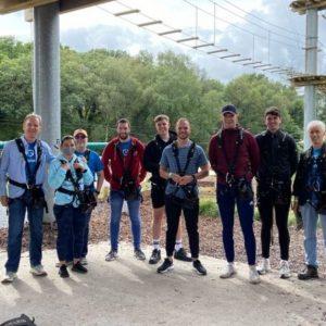 Team Building Adventures for your staff at Wildlands!
